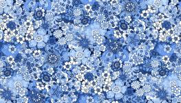 Oriental - blau