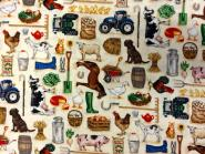 Süße Bauernhof, Tier- und Farmmotive