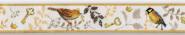 Webband, Vogelprinzen, acufactum, Vögel, 16 mm breit
