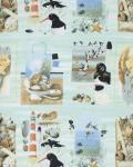 Coastal Collage, Beach Treasures, Marjolein Bastin for Free Spirit, PWMB031-SKYXX