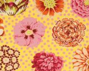 Yellow Big Blooms, Kaffe Fassett