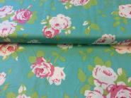 Patchworkstoff, Rose Vine-Green, Chloe by Tanya Whelan for Free Spirit