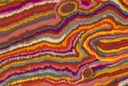 "Kaffe Fassett, Patchworkstoff, Multicolor, ""Jupiter Brown"", Rowan"
