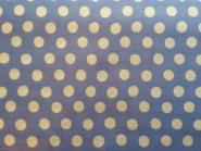 Kaffe Fassett Classics, Spot China Blue, weiße Punkte auf blauem Hintergrund