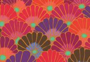 Patchworkstoff,Thousand Flowers, Kaffe Fassett,PWGP144-REDXX
