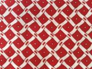 Rot weißes Gittermuster, leicht gewellt, Naptime, Darlene Zimmermann for Robert Kaufmann