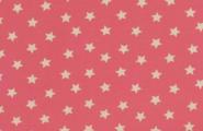 Jersey, weiße Sterne auf rosa Hintergrund