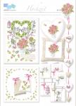 Hochzeit, traumhafte Motive für den schönsten Tag im Leben, in frischem Design für kleine und große Stickarbeiten