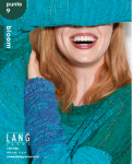 punto 9, bloom, Booklet, Lang Yarns
