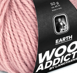 WOOLADDICTS, Earth, Lang Yarns, soft touch 1004.