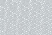Patchworkstoff, Essentials Star, White on Pewter,306 S3 Weiß auf Grau