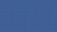 """Patchworkstoff, Spot on, weiße Punkte/Pünktchen auf blauem Hintergrund. """"Spot"""", 830, B 68, makower"""
