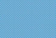 """Patchworkstoff, weiße Punkte/Pünktchen auf blauem Hintergrund. """"Spot"""", 830,B64, makower"""