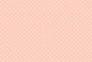 Patchworkstoff, weiße Punkte/Pünktchen auf rosa Hintergrund. Spot, 830,P1, makower