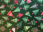 Patchworkstoff, Weihnachtsstoff, Tannenbäume, makower