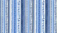 "Patchworkstoff ""Blue oriental stripe"", Oriental,1424, Makower uk"