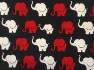 Jersey, Elefanten, Elephant Parade, blau, weiß, rot