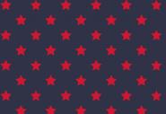 Jersey, rote Sterne auf marineblauem Hintergrund