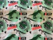 French Terry, Sommersweat, T-Rex, Dino, Dinosaurier, Tyrannosaurus Rex