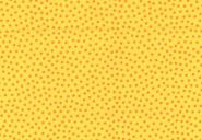 Westfalenstoff, Junge Linie gelb mit orangefarbenen Punkten, 0010508022, Punkte