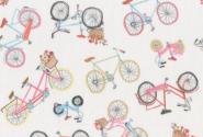 Patchworkstoff, Westfalenstoff, Fahrräder, 010503102