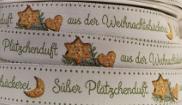 Webband, acufactum, Süßer Plätzchenduft aus der Weihnachtsbäckerei