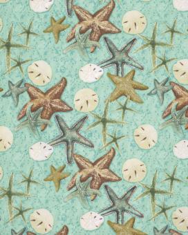 Starfish, Beach Treasures, Marjolein Bastin for Free Spirit, PWMB025-SKYXX