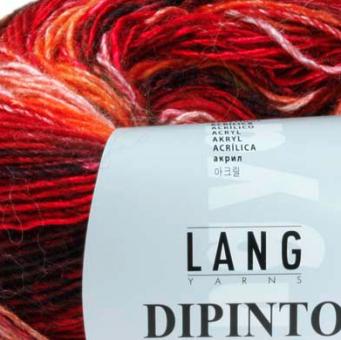 Dipinto, Lang Yarns, ideal für verkürzte Reihen 975.
