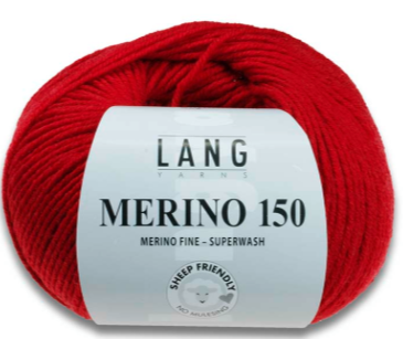 Merino 150, Merinowolle, 61 Farben!, sheep friendly (siehe Beschreibung), Lang Yarns 197.