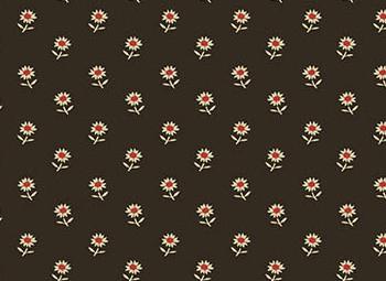 Patchworkstoff, Daisies black, Riviera Floret, 9094, andover