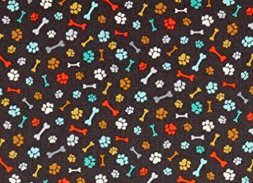 Patchworkstoff, A walk in the Park, Paws grey, 2146