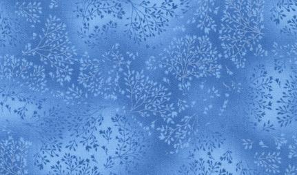 Fusions, blau, blue,  Robert Kaufmann, Patchworkstoff