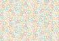 """Patchworkstoff, bunte Sterne auf creme Hintergrund, """"Merry Stars cream"""", Makower, 2116"""