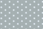 Westfalenstoffe, weiße Sterne auf grau, 010506236 - Lyon