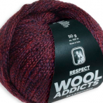 WOOLADDICTS, Respect, Lang Yarns 1025.