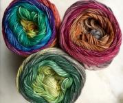 Pro Lana, 1-2-3 Ideen, Farbverlaufsgarn, 100 % Baumwolle 461