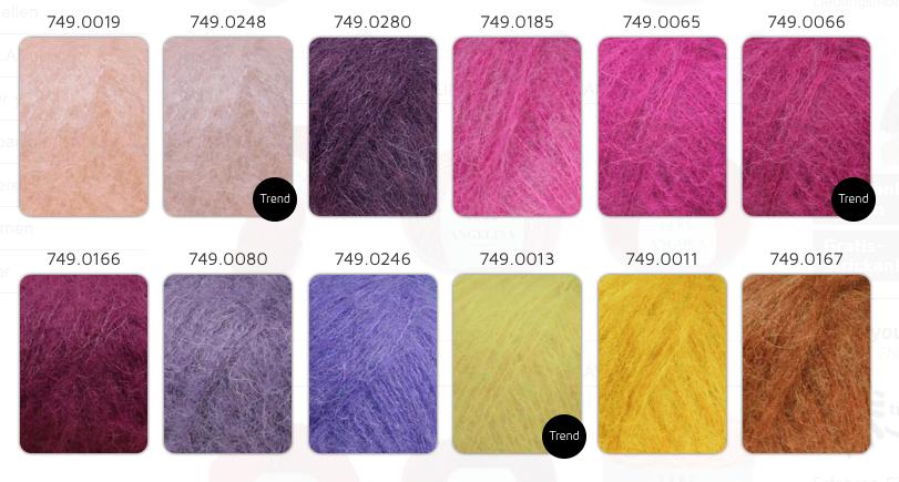 19,80€//100g Lang Yarns Alpaca superlight 25g Hauchzarte Maschen alle Farben